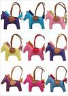 Real genuine leather Rodeo Horse Pony bag charmperfect for hermes Birkin anybag