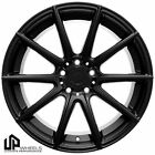NEW 19x95 5x112 UP100 WHEELS RIM SET BLACK SQUARE ET40 MERCEDES BENZ AUDI S4 S5