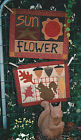PATTERN Primitive Sunflower Squirrel Acorn Wall Quilt NEW Country Threads