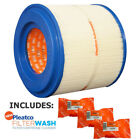 Pleatco PMA45 2004 R Filter Cartridge Master Spas EP X268330 w 3x Filter Washes