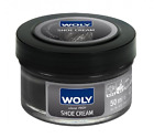 Woly Black Leather Shoe Cream German Conditioner for Designer Leather Shoes F