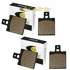 FRONT and REAR BRAKE PADS FIT APRILIA CLIMBER 200 1993
