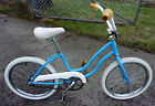 Schwinn  Fair Lady Girls Baby Blue Bike Bicycle 1980's Vintage