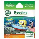 LeapFrog SpongeBob SquarePants The Clam Prix Learning Game works with LeapPad