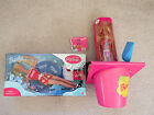 Lot of two Barbie Beach Fun bucket AND Coca Cola Splash New in Box Vintage