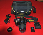5K Clicks Nikon D40 Digital SLR w VR Nikkor 18 55mm Lens Mint