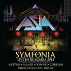 ASIA (ROCK) - SYMFONIA: LIVE IN BULGARIA 2013 [GATEFOLD COVER] [DIGIPAK] NEW CD