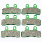 Front Rear Brake Pads For GENERIC KSR Mini Trigger X50 X 50 2008 2009 Brakes