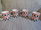 1996 Gibson Coca Cola Cups Black Red Checkered