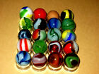 Vintage Marbles From Estate Sale. Marble King / Vitro / Alley Agate / Akro Agate