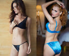 ONE Katie  Lauras Fancy Satin Panty String Bikini your choice of Sexy Colors
