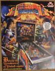 Medieval Madness Remake pinball flyer by Planetary Pinball