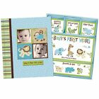Silly Monkey Baby Boy Babys First Five Years Keepsake Record Book with Box