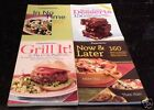 WEIGHT WATCHERS Cookbooks LOT OF 4 Desserts Grill It Now  Later In No Time