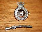 2 VINTAGE BRITISH MILITARY MEDALS THE LIFE GUARDS & ENFIELD 303 RIFLE