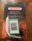 Janome Brush-Out Embroidery Kit for Memory Craft Embroidery Machines