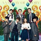 NEW AAA WAY OF GLORY CD + DVD Goods Blanket With Postcard Limited Japan f / s