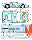 1/12 TRANSDECAL FORD GT40 NR. 1 LE MANS '66 TRUMPETER