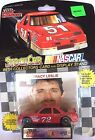 LIONEL NASCAR TRACY LESLIE 72 RACING STOCK CAR COLLECTORS CARD & DISPLAY STAND