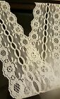 White Lace Trim  Wedding Bridal Embroidered 2 3/4