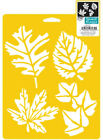 LEAF STENCIL 4 DIFFERENT LEAVES TEMPLATE ART STENCILS TEMPLATES CRAFT PAINT NEW