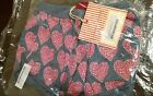 NIP NWT Paper Wings heart pocket shorts big heart pockets on back side size 7