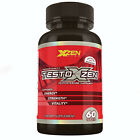 Testosterone Booster Testoxzen for Men Stronger Test Booster Vitamin 60 Tablets