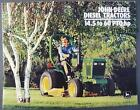 Original 1984 John Deere 14.5 to 60 PTO HP Diesel Tractors Dealer Sales Brochure