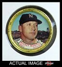 1964 Topps Coins #120 Mickey Mantle Yankees EX Y5350
