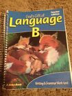 Abeka Language B Teacher Edition To Writing And Grammar Work text