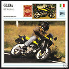 1991 Gilera 600cc Nordwest (558cc) Italy Motorcycle Photo Spec Sheet Info Card