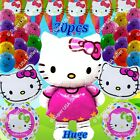 SELECTIONS HELLO KITTY BALLOONS Gifts Decor Shower Birthday Party Suppli