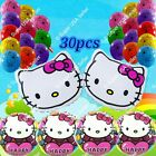 SELECTIONS HELLO KITTY BALLOONS Gifts Decor Shower Birthday Party Supplies lot K