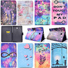 Smart Pattern PU Leather Case Flip Cover for Samsung Galaxy Tab A T280 T350 T580