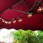 Outdoor String Lights For Patio Globe Edison Vintage Party Weddings 25FT G40 New
