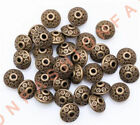 50500 Rondelle Antique Metal Alloy Bicone Spacer Beads 6mm For Jewelry Making