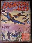 FIGHTING ACES pulp fiction magazine MARCH 1943