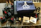 HUGE Atari 2600 Console LOT, 40 Games, Controllers, Manuals, Wico controllers.