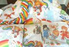 Rainbow Brite Twin Complete Bedding Set Comforter Sheets Curtains blanket