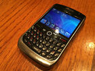 BlackBerry Curve 8900 Black T Mobile Smartphone BAD TRACK PAD NO BATTERY + Case