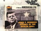 TOPPS Berlin Wall JFK Collectible Card with piece of Berlin Wall very rare