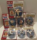 SET OF 7 - 1995 STARTING LINEUP - SPORTS SUPERSTAR COLLECTIBLES