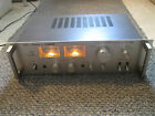 NICE VINTAGE FISHER INTEGRATED STEREO AMPLIFIER MODEL CA 7000 JAPAN WORKS WELL