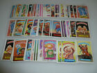 VINTAGE TOPPS GARBAGE PAIL KIDS CARD 5TH SERIES SET COMPLETE 80 CARDS A & B 1986