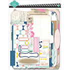 Heidi Swapp Memory Files Scrapbook Album Kit 9X115 Cardstock