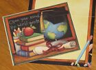 Open Your Mind the world awaits Susan Winget Art School Lang Note Cards 6ct
