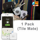 Tile Mate Key Finder Bluetooth Phone Tracker Find Anything Ring Locator, 1 Pack