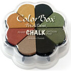 ColorBox Fluid Chalk Petal Point Ink Pad 8 Colors Autumn Pastels