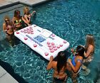 Inflatable Beer Pong Table Swimming Pool Toy Float Drinking Game Party Lounge
