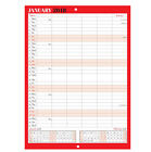 2018 Family Appointment Planner/Calendar One Month to View/home/office Black